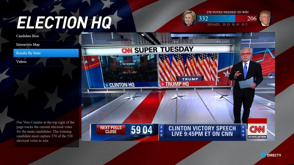 Election HQ Mix TV App (2016)