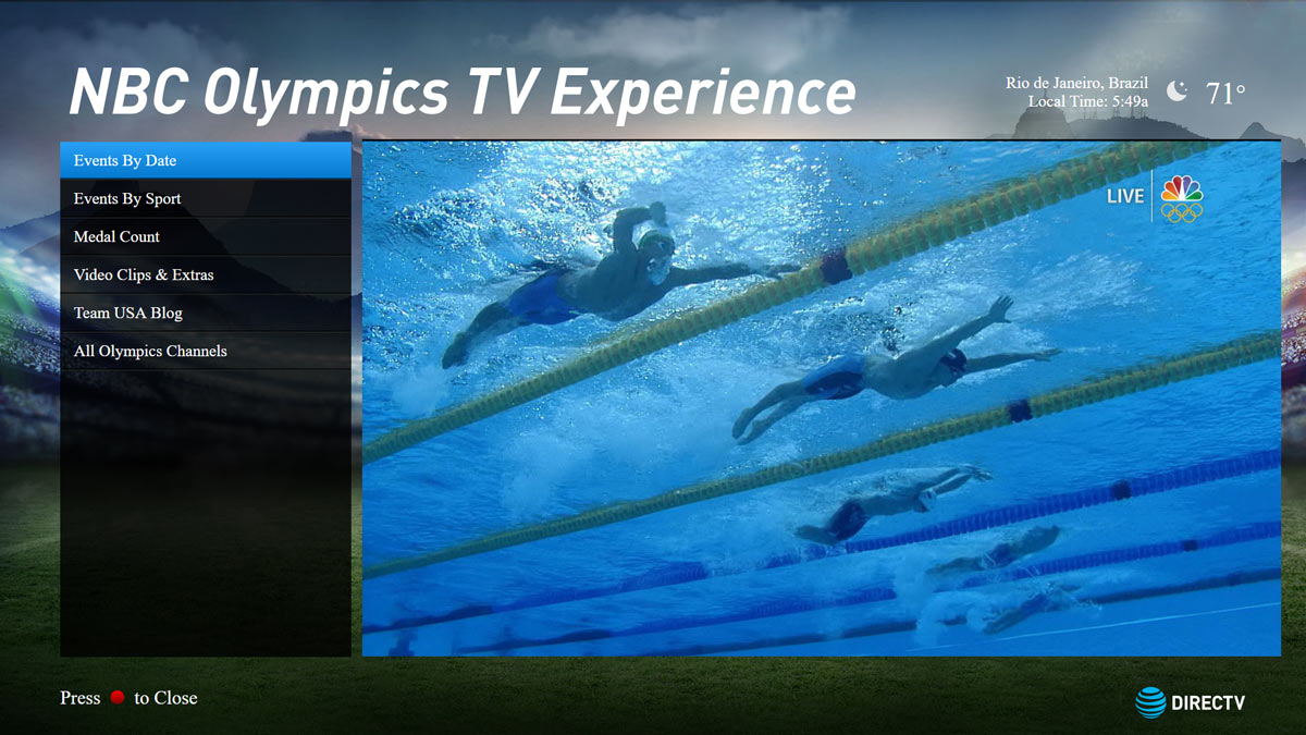 Olympics TV App (2016)